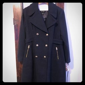 Jessica Simpson Navy trench coat
